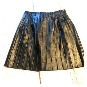 Jôn Leather Skirt